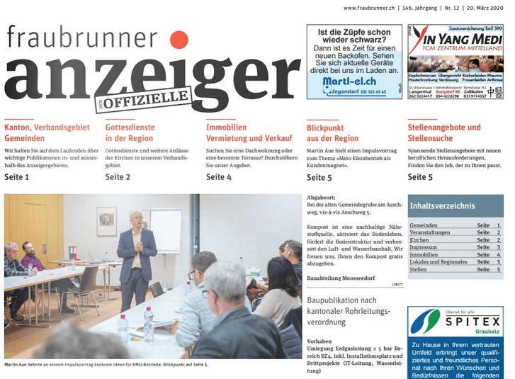 Fraubrunner Nachbericht