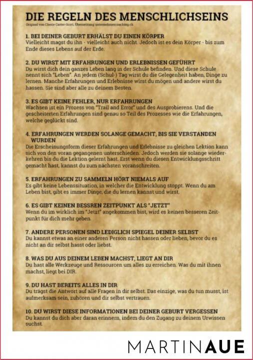 Die Regeln